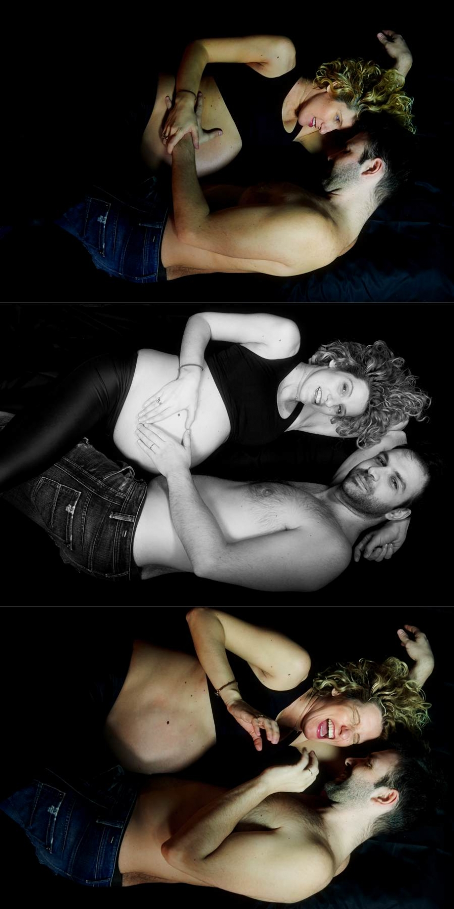 Ilias Maria maternity photos 10