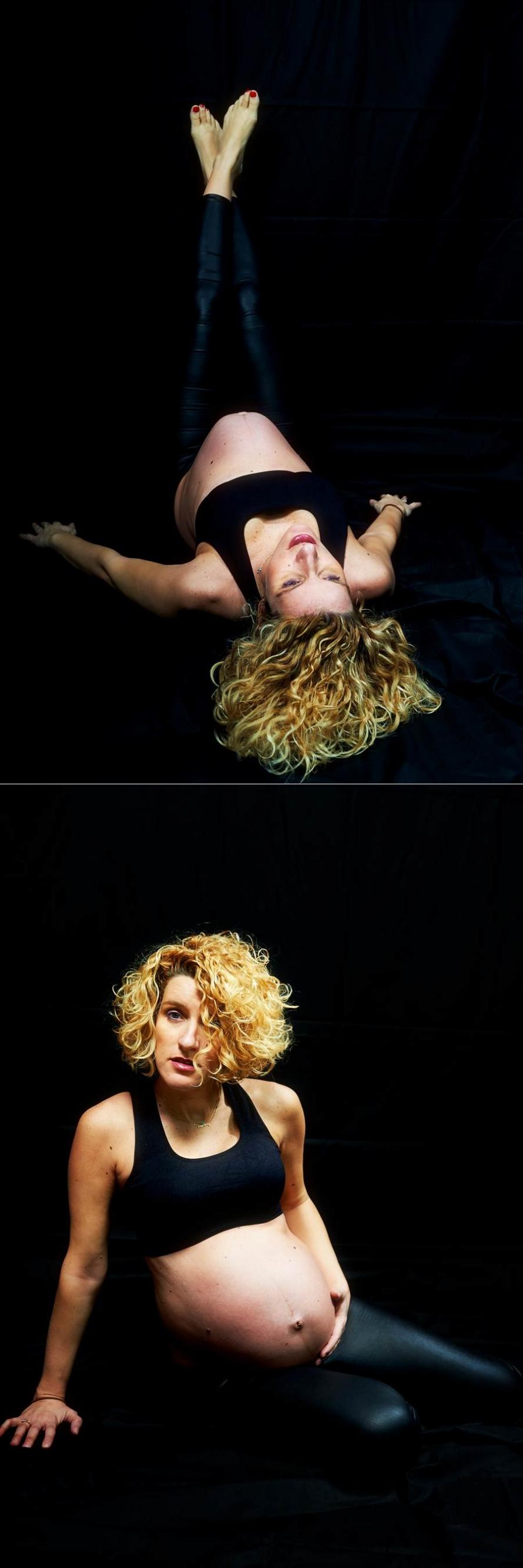 Ilias Maria maternity photos 11