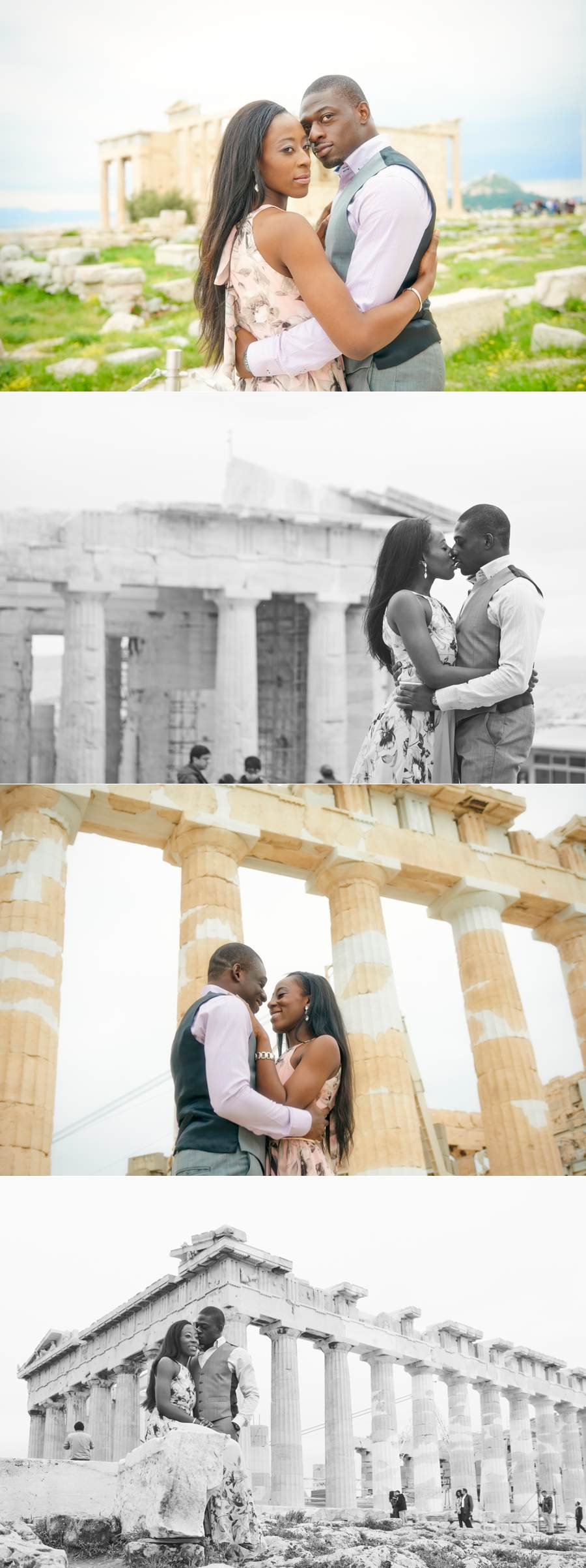 Tosin Bolu engagement photo shooting 02