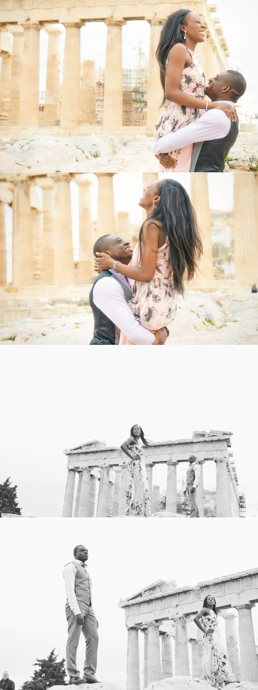 Tosin Bolu engagement photo shooting 04