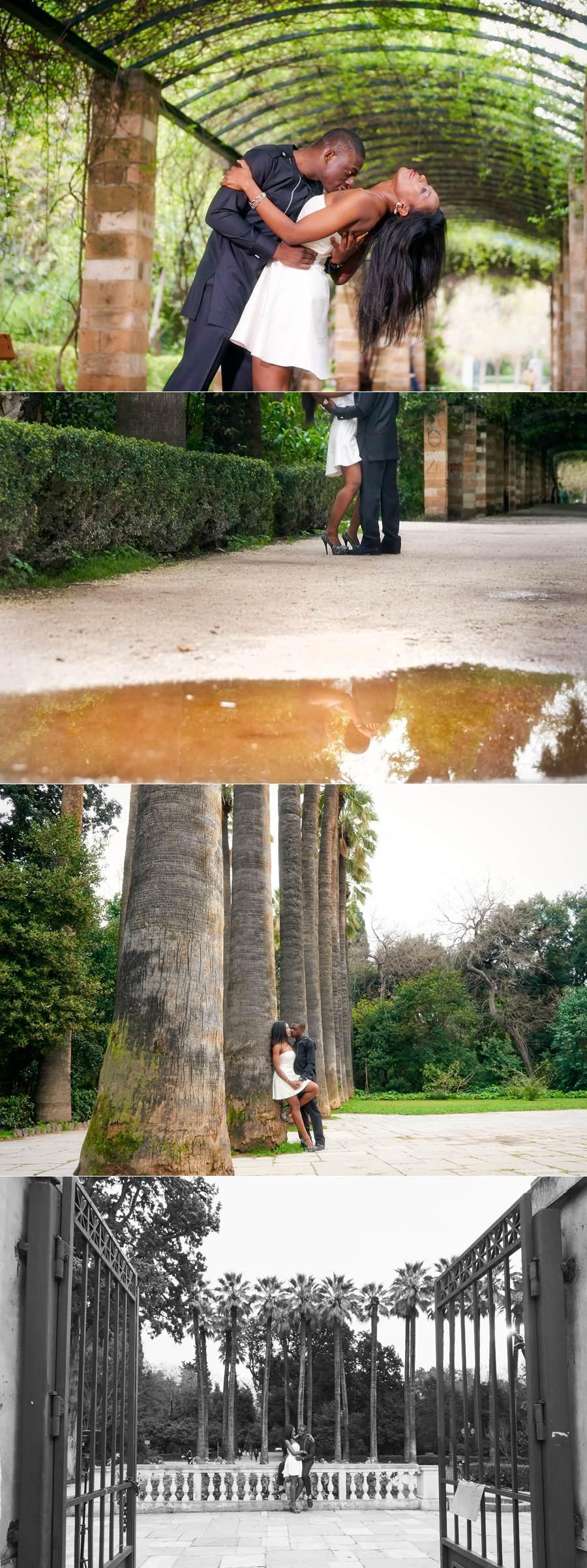Tosin Bolu engagement photo shooting 11