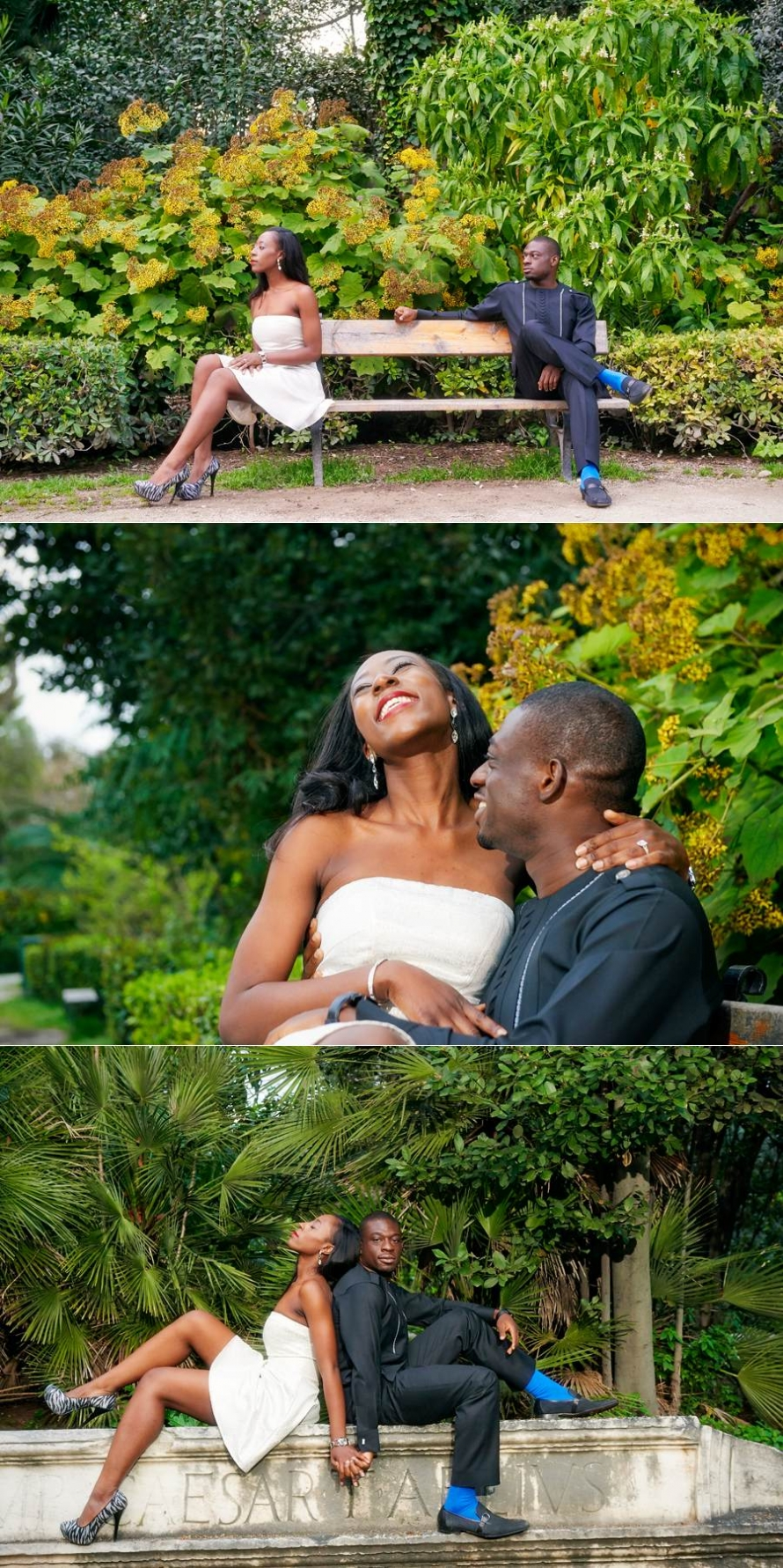 Tosin Bolu engagement photo shooting 12
